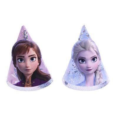 Disney Frozen迪士尼冰雪奇緣派對用品 Party Time派對帽8入