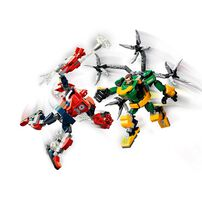 LEGO樂高 漫威超級英雄系列Spider-Man & Doctor Octopus Mech Battle 76198