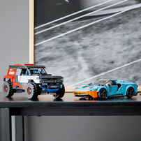 Lego樂高 76905 Ford GT Heritage Edition and Bronco R