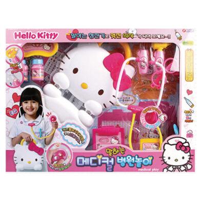 Hello Kitty凱蒂貓hello Kitty 造型手提盒醫護組