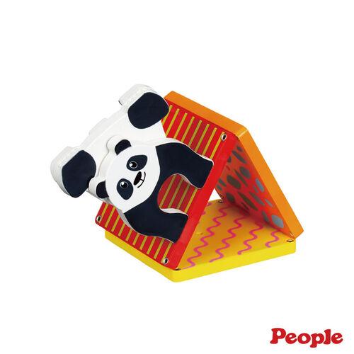 People益智磁性積木BASIC系列-迷你動物園組(森林)