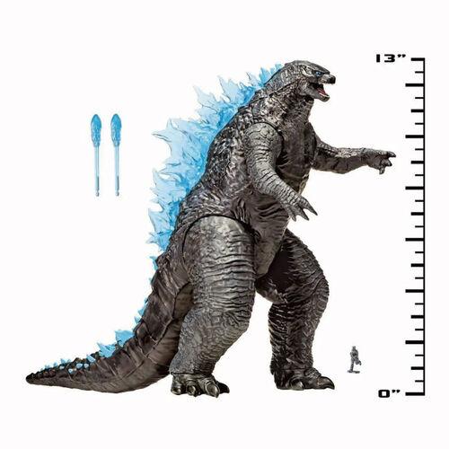 Godzilla vs. Kong哥吉拉大戰金剛 13吋哥吉拉豪華公仔