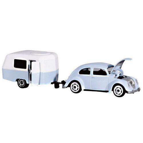 Majorette美捷輪小汽車小汽車復古車款(附拖車) - 隨機發貨