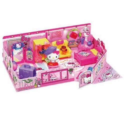 Hello Kitty凱蒂貓夢幻臥室