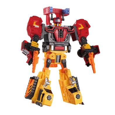 Hello Carbot衝鋒戰士咖寶車神烈焰戰士