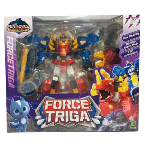 Miniforce迷你特工隊 重裝龍戰甲
