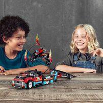 LEGO樂高機械組系列 特技表演貨車及電單車 42106