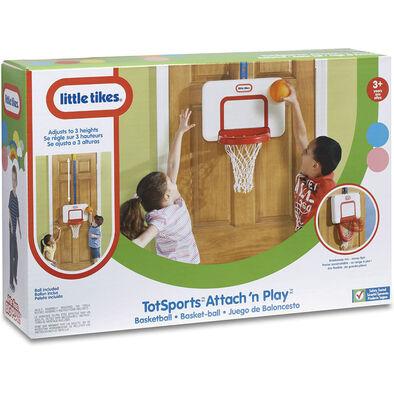 Little Tikes小泰可-門掛式可調籃球架