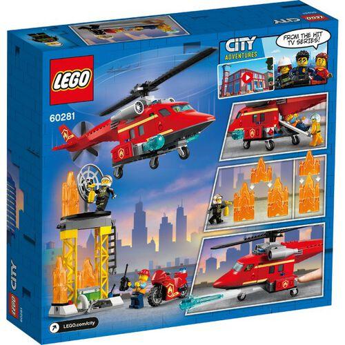 LEGO樂高 60281 消防救援直升機
