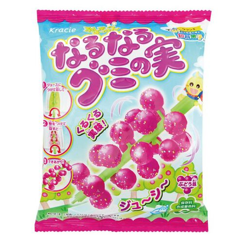 Kracie Foods 知育果子系列 創意diy 葡萄風味小達人