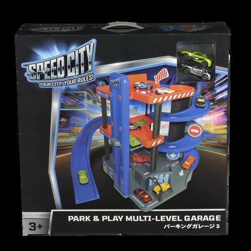 Speed City 極速城市 停車大樓