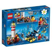 LEGO樂高60274 特警燈塔拘捕