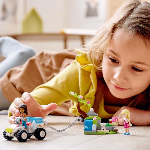Lego樂高 Lego Friends 41442 獸醫診所救援越野車