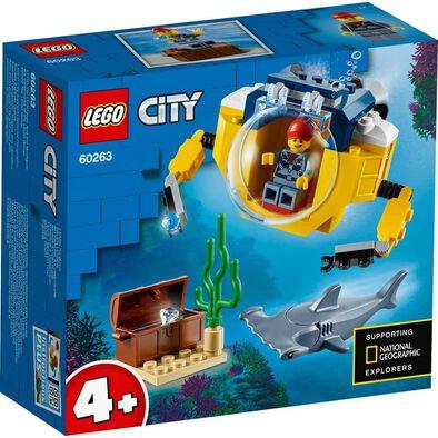 LEGO樂高 60263 海洋迷你潛水艇