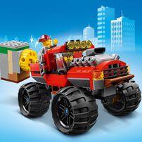 LEGO樂高城市系列 怪獸卡車搶劫案 60245