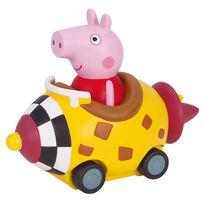 Peppa Pig粉紅豬小妹迷你造型車