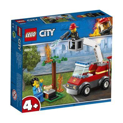 LEGO樂高城市系列 60212 烤肉架火災 積木 玩具