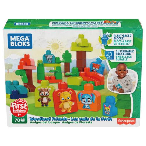 Mega Bloks美高積木First Builders系列可愛動物森林組