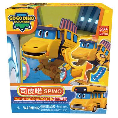 Go Go Dino幫幫龍出動 迷你變形司皮喏