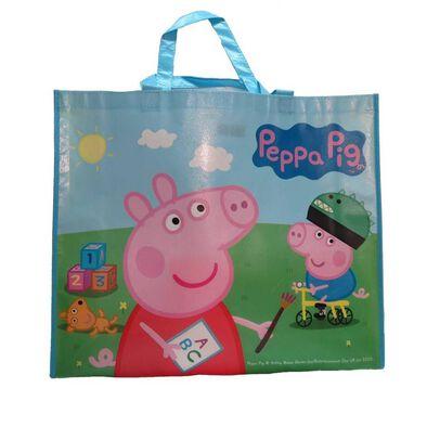"Toys""R""Us玩具""反""斗城Peppa Pig粉紅豬小妹環保購物袋"