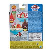 Play-Doh培樂多 雙醬冰淇淋遊戲組(輕便版)