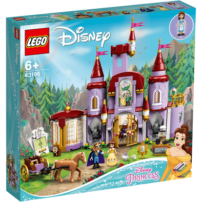 Lego樂高 43196 Belle and the Beast's Castle