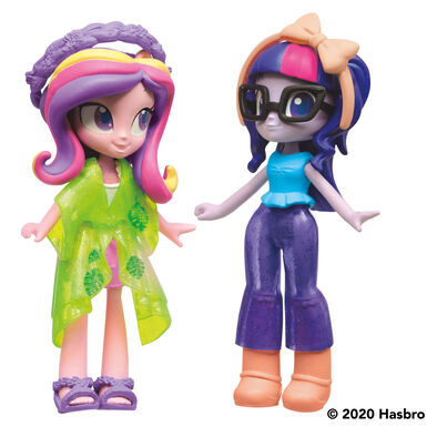 My Little Pony小馬寶莉小馬國女孩 時裝小隊紫悅與卡丹絲公主