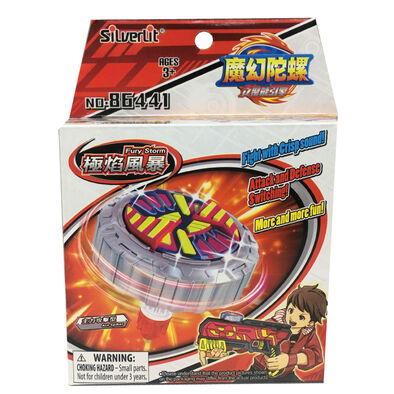 Spin Fighter魔幻陀螺 聚能引擎-極焰風暴