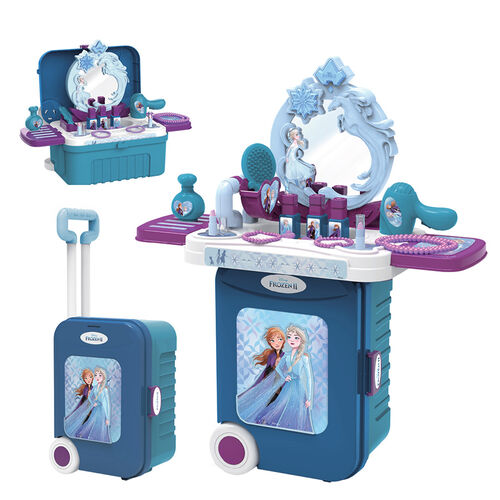 Disney Frozen迪士尼冰雪奇緣Frozen2 廚房旅行箱