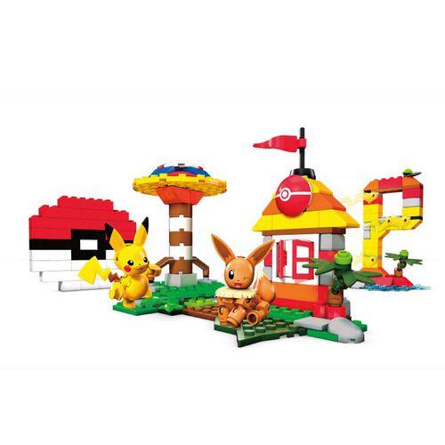 Mega Bloks美高積木 創建寵物小精靈建築箱