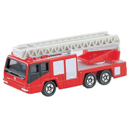 Tomica多美 No﹒108 配備日野梯子的消防車(森田超級陀螺梯)