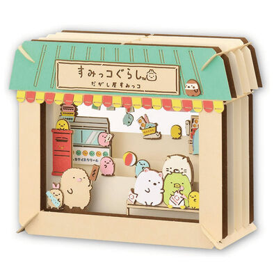 Sumikko Gurashi 紙劇場拼圖-角落小夥伴/雜貨店
