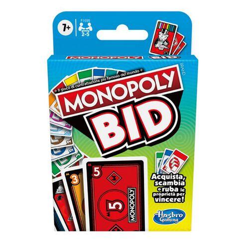 Monopoly地產大亨 BID競標卡牌遊戲組