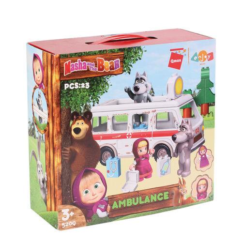 Masha and The Bear瑪莎與熊 救護車組