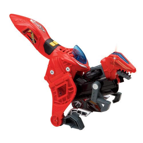 Vtech 聲光變形恐龍車-迅猛龍-阿庫納