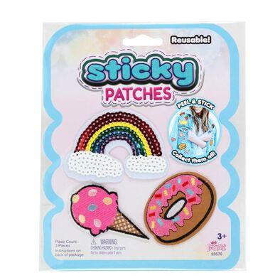 Sticky Patches黏黏補丁 DIY繽紛紡織布貼