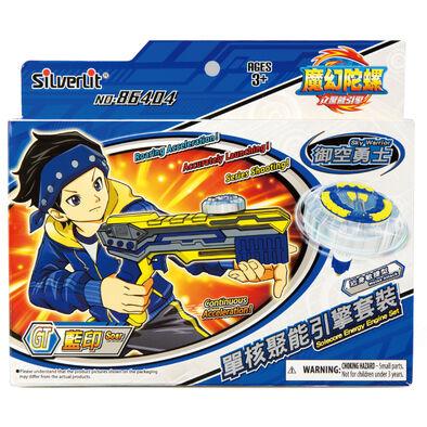 Spin Fighter魔幻陀螺 聚能引擎 單核藍印x御空勇士