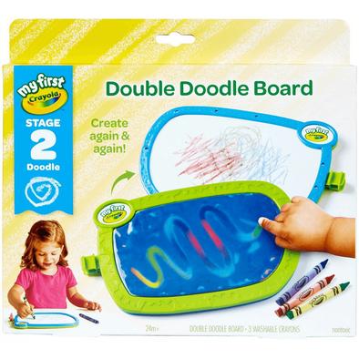 Crayola繪兒樂雙面水塗鴉組(附蠟筆)