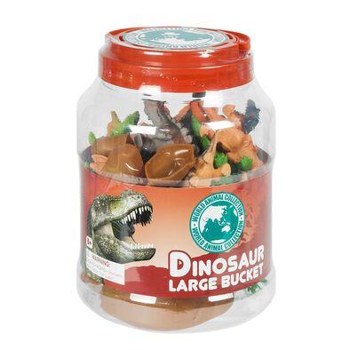 World Animal Collection 20件桶裝恐龍模型