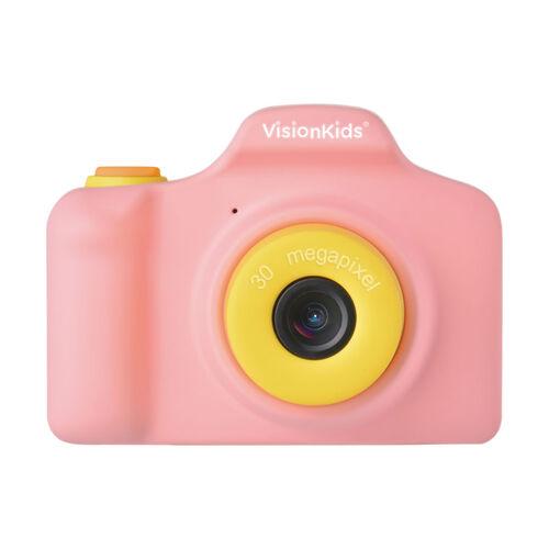 日本Vision Kids Happicamu Pro 3000萬像素兒童數位相機-粉紅色