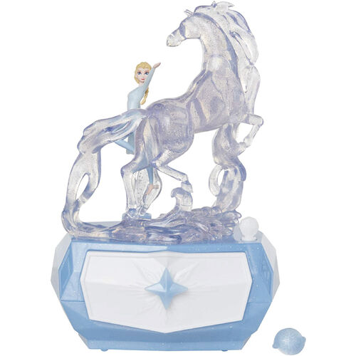 Disney Frozen迪士尼冰雪奇緣2艾莎黑海音樂盒
