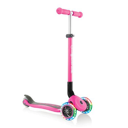 Globber高樂寶 折疊滑板車 粉紅色