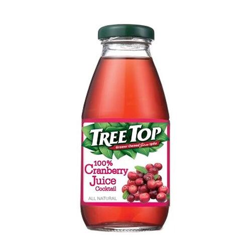 Top Tree樹頂100%蔓越莓綜合果汁 玻璃瓶