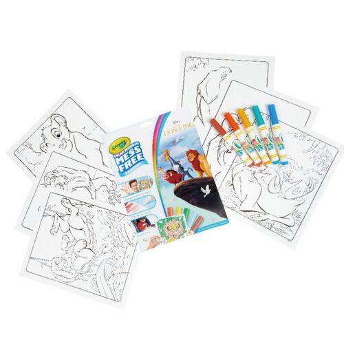 Crayola繪兒樂 神彩著色套裝 獅子王(紙盒)