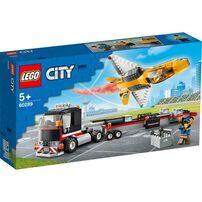 LEGO樂高 60289 空中特技噴射機運輸車