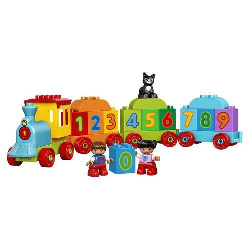 LEGO樂高得寶系列 數字火車