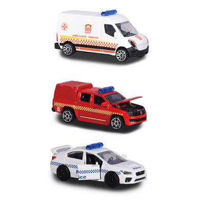 Majorette美捷輪小汽車 國際款 - 澳洲救援車款
