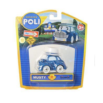 Robocar Poli波力救援小英雄 波力慕斯堤 - 隨機發貨