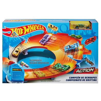 Hot Wheels風火輪奪標系列軌道組 - 隨機發貨