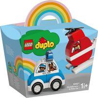 LEGO樂高 10957 消防直升機 & 警車